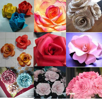 How to make paper roses shadez of michelle mightylinksfo